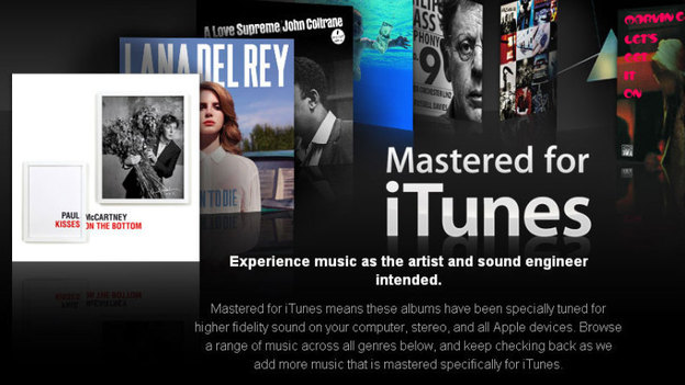 Mastered for iTunes